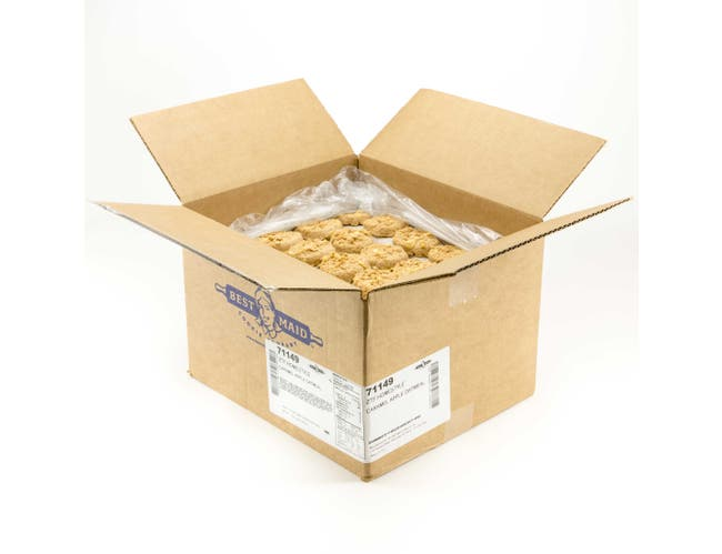 Best Maid Caramel Apple Oatmeal Homestyle Cookie Dough, 1.5 Ounce -- 200 per case.