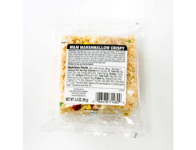Best Maid Thick Marshmallow Crispy Bar, 3.4 Ounce -- 24 per case.