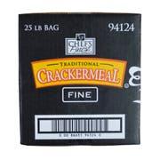 Chefs Finest Fine Grind Cracker Meal, 25 Pound -- 1 each.