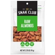 Century Snacks Snak Club Premium Pack Raw Almonds, 2.75 Ounce -- 6 per case