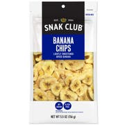 Century Snacks Snak Club Premium Pack Banana Chips, 5.5 Ounce -- 6 per case