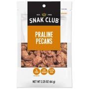 Century Snacks Snak Club Premium Pack Praline Pecans, 2.25 Ounce -- 6 per case