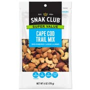 Century Snacks Snak Club Super Value Cape Cod Trail Mix, 3.5 Ounce -- 6 per case