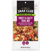 Century Snacks Snak Club Super Value Sweet Salty Trail Mix, 8 Ounce -- 6 per case