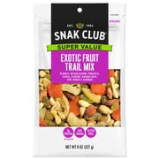 Century Snacks Snak Club Super Value Exotic Fruit Mix, 8 Ounce -- 6 per case