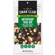 Century Snacks Snak Club Super Value Antioxidant Trail Mix, 8 Ounce -- 6 per case