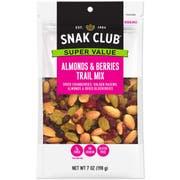 Century Snacks Snak Club Super Value Almonds Berries Trail Mix, 7 Ounce -- 6 per case