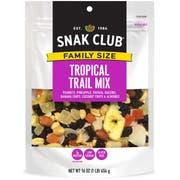 Century Snacks Snak Club Family Size Tropical Mix, 16 Ounce -- 6 per case