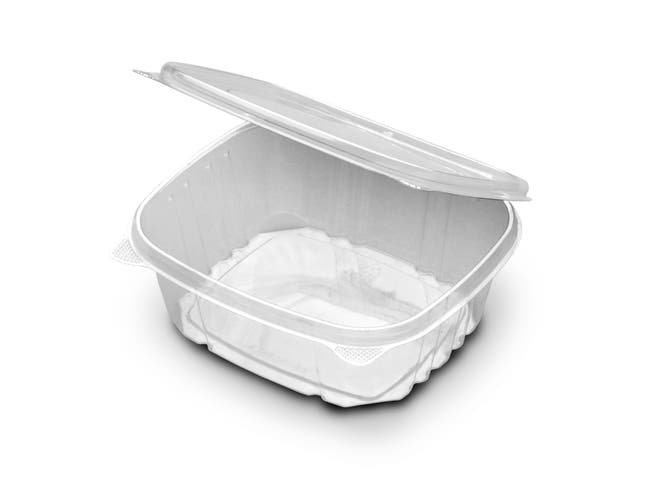 D and W Fine Pack Versapak Hinged Container, 32 Ounce -- 200 per case.