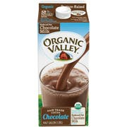 Organic Valley 2 Percent Reduced Fat Chocolate Milk, 64 Fluid Ounce -- 6 per case