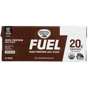 Organic Valley Chocolate Fuel High Protein Milk Shake, 11 Ounce -- 12 per case