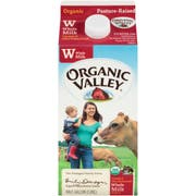 Organic Valley Ultra Pasteurized Whole Milk, 64 Fluid Ounce -- 6 per case