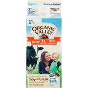 Organic Valley Ultra Pasteurized 1 Percent Low Fat Milk, 64 Fluid Ounce -- 6 per case