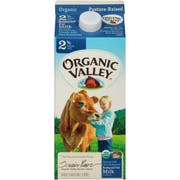 Organic Valley Ultra Pasteurized 2 Percent Reduced Fat Milk, 64 Fluid Ounce -- 6 per case