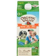 Organic Valley Ultra Pasteurized Non Fat Skim Milk, 64 Fluid Ounce -- 6 per case