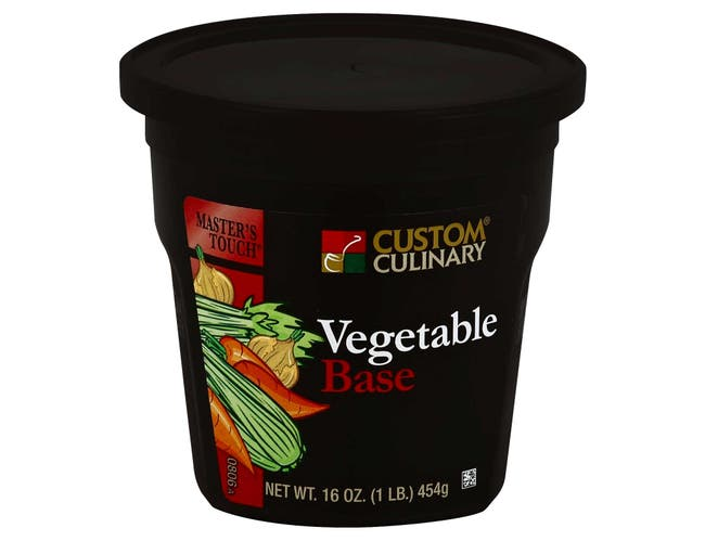 Masters Touch Vegetable Base, 1 Pound -- 6 per case.