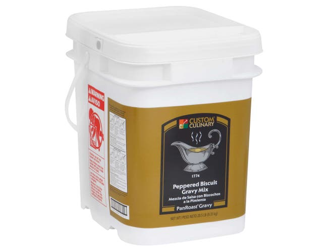 Panroast Peppered Biscuit Gravy Mix, 20.5 Pound -- 1 each.