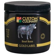 Custom Culinary Gold Label Beef Base, 20 Pound -- 1 each.