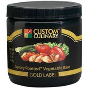 Custom Culinary Gold Label Savory Roasted Vegetable Base, 20 Pound -- 1 each.