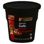 Custom Culinary Gold Label Roasted Garlic Base, 1 Pound -- 6 per case.