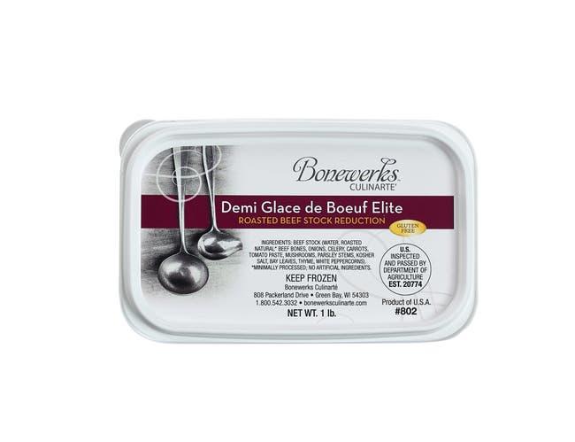 Bonewerks Culinarte Beef Demi Glace de Boeuf Elite, 5 Pound -- 4 per case.