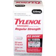 Tylenol Caplets, 100 count per pack -- 10 per case.