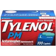 Tylenol Pm Extra Strength Caplets, 100 per unit -- 8 per case