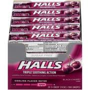 Halls Sugar Free Black Cherry - 9 count stick, 480 per case