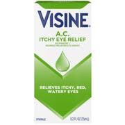 Visine Itchy Eye Relief, 0.5 Fluid Ounce -- 36 per case