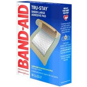 Band Aid Tru Stay Large Adhesive Pad, 10 count per pack -- 24 per case.
