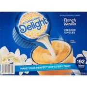 International Delight French Vanilla Liquid Creamer - 192 per pack -- 1 each.