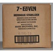 Stabilizer Meringue 25 Pound Each