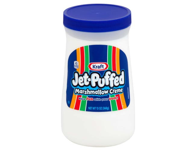 Jet-Puffed Marshmallow Creme - 13 oz. container, 6 per case