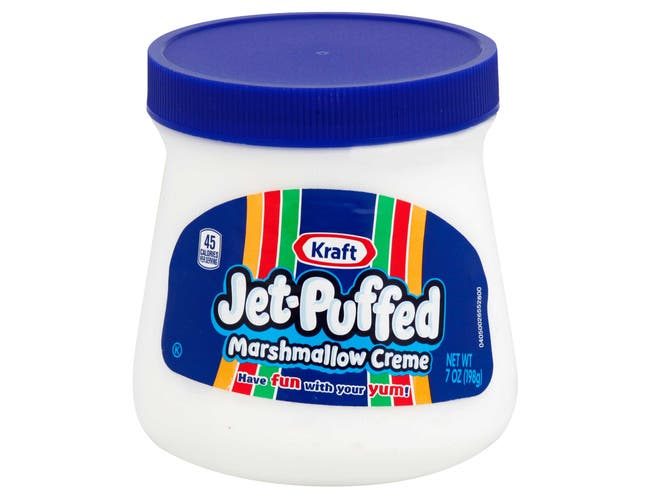 Jet-Puffed Marshmallow Creme - 7 oz. container,  6 per case