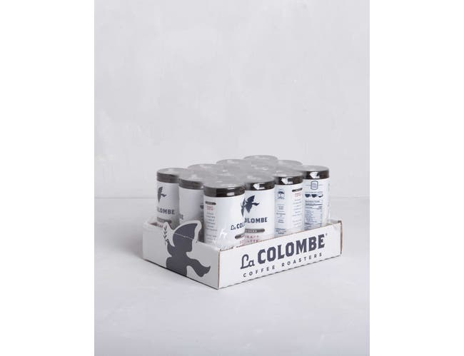 La Colombe Mocha Draft Cold Brew Latte, 9 Fluid Ounce -- 12 per case.
