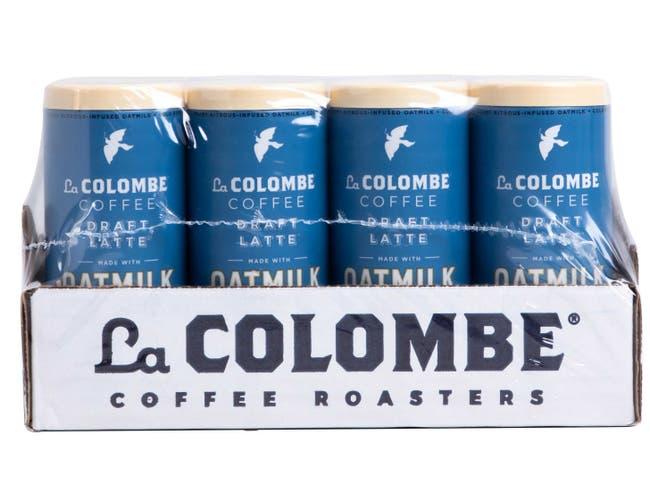 La Colombe Vanilla Oatmilk Draft Latte, 9 Fluid Ounce -- 8 per case