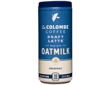La Colombe Original Oatmilk Draft Latte, 9 Fluid Ounce -- 8 per case