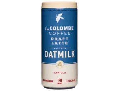 La Colombe Vanilla Oatmilk Draft Latte, 9 Fluid Ounce - 4 count per pack -- 4 packs per case