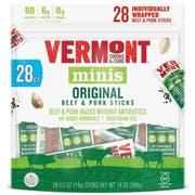 Vermont Smoke and Cure Minis Original Beef and Pork Stick, 1.3 Ounce -- 12 per case