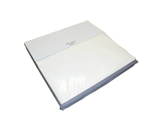Impact Products White Grease Resistant Trayed Sandwich Wrap, 16 inch Length x 15 inch Width -- 1 each.