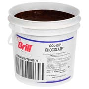CSM Bakery Ready To Use Col Dip Chocolate Pastry Icing, 23 Pound -- 1 each.