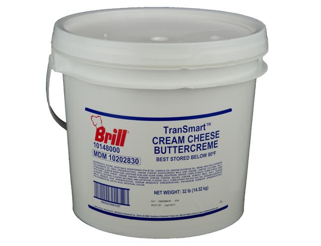 Brill Cream Cheese Buttercreme, 32 Pound -- 1 each.