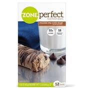Zone Perfect Chocolate Chip Cookie Dough Nutrition Bar, 1.58 Ounce -- 36 per case.