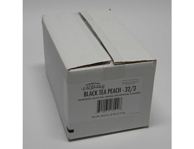 Teazzers Peach Black Tea Bag, 3 Ounce -- 32 per case.
