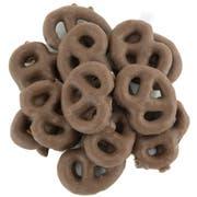 TR Toppers Cocoa Mini Pretzel, 10 Pound -- 1 each.