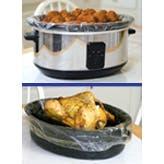 Pansaver EZ Clean Slow Cooker Liner, 50 count per pack -- 10 per case.