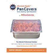 Pansaver Clear Half Pan Cover -- 50 per case.