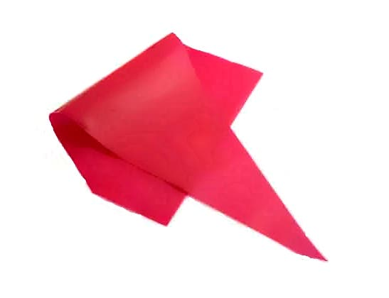Pipinq Red 21 Disposable Pastry Bag -- 74 per case.
