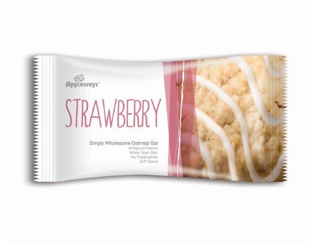 Darlington Farms Strawberry Bar, 1.2 Ounce -- 216 per case.
