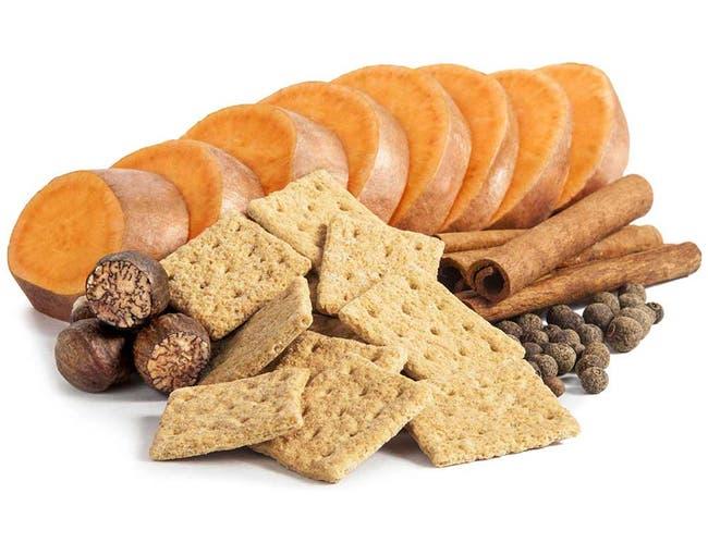 Appleways Whole Grain Sweet Potato Cracker, 1.0 Ounce -- 108 per case